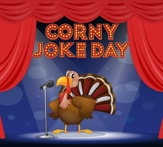 Corny Joke Day Tony Turkey Image