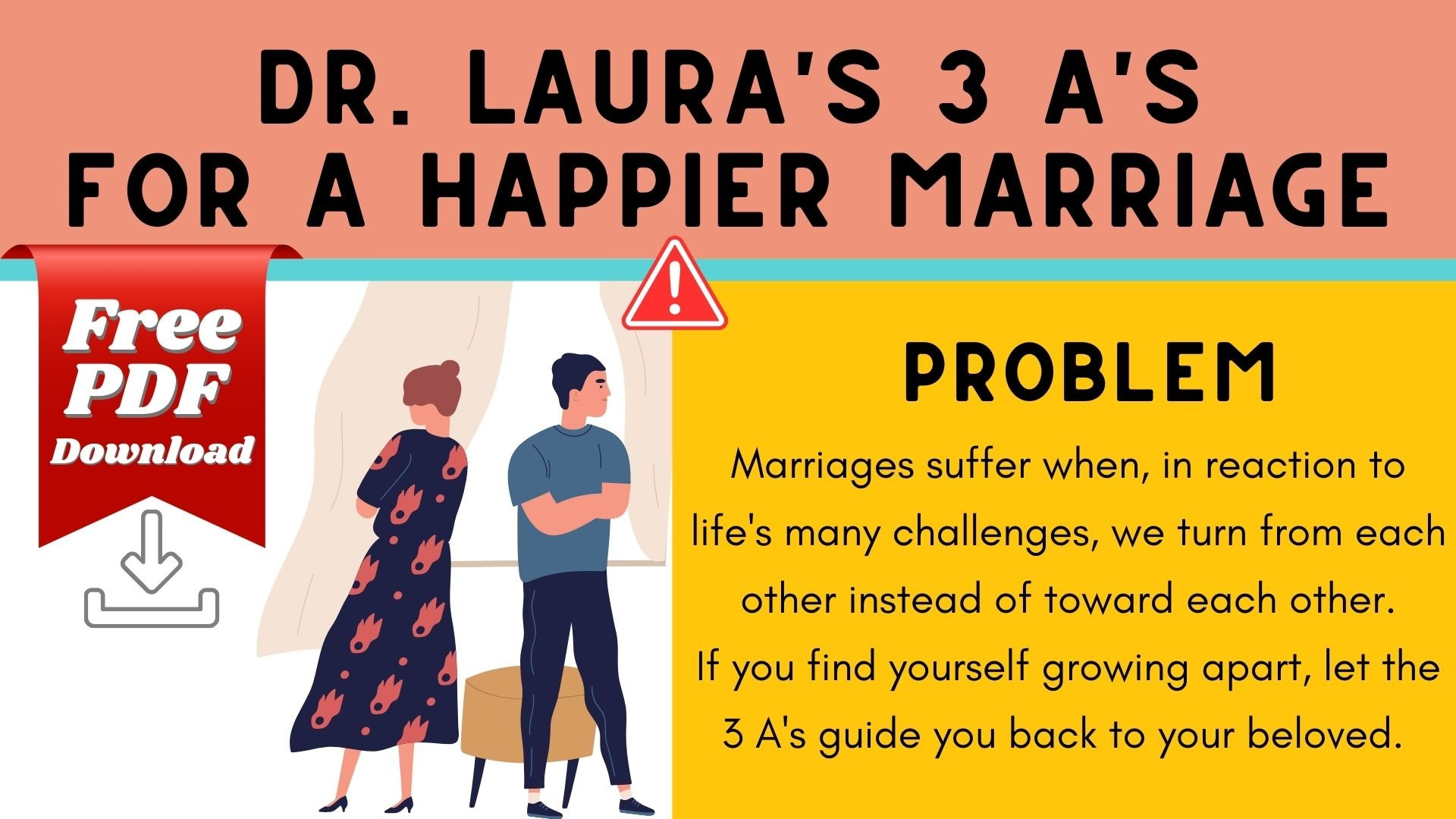Blog: Dr. Laura's 3 A's for a Happier Marriage