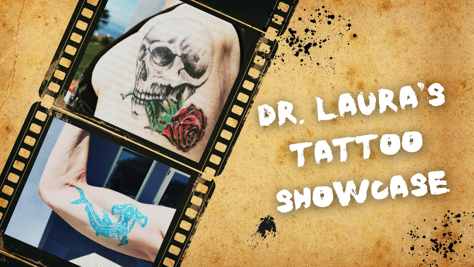 YouTube: Dr. Laura's Tattoo Showcase