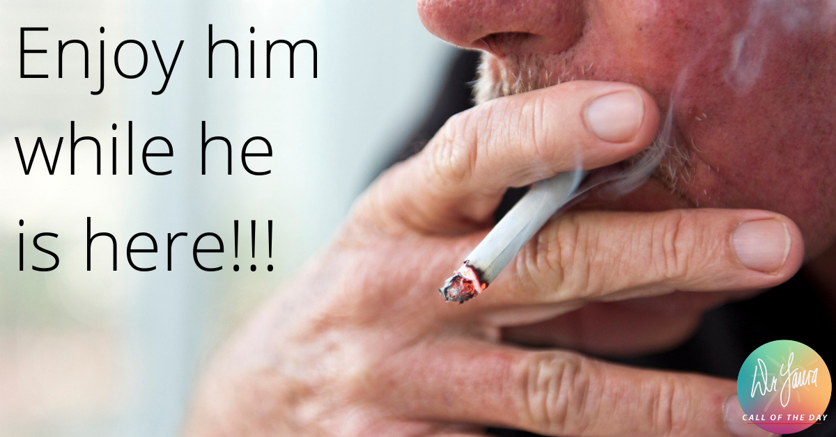 Call of the Day Podcast:My Husband Won't Stop Smoking!