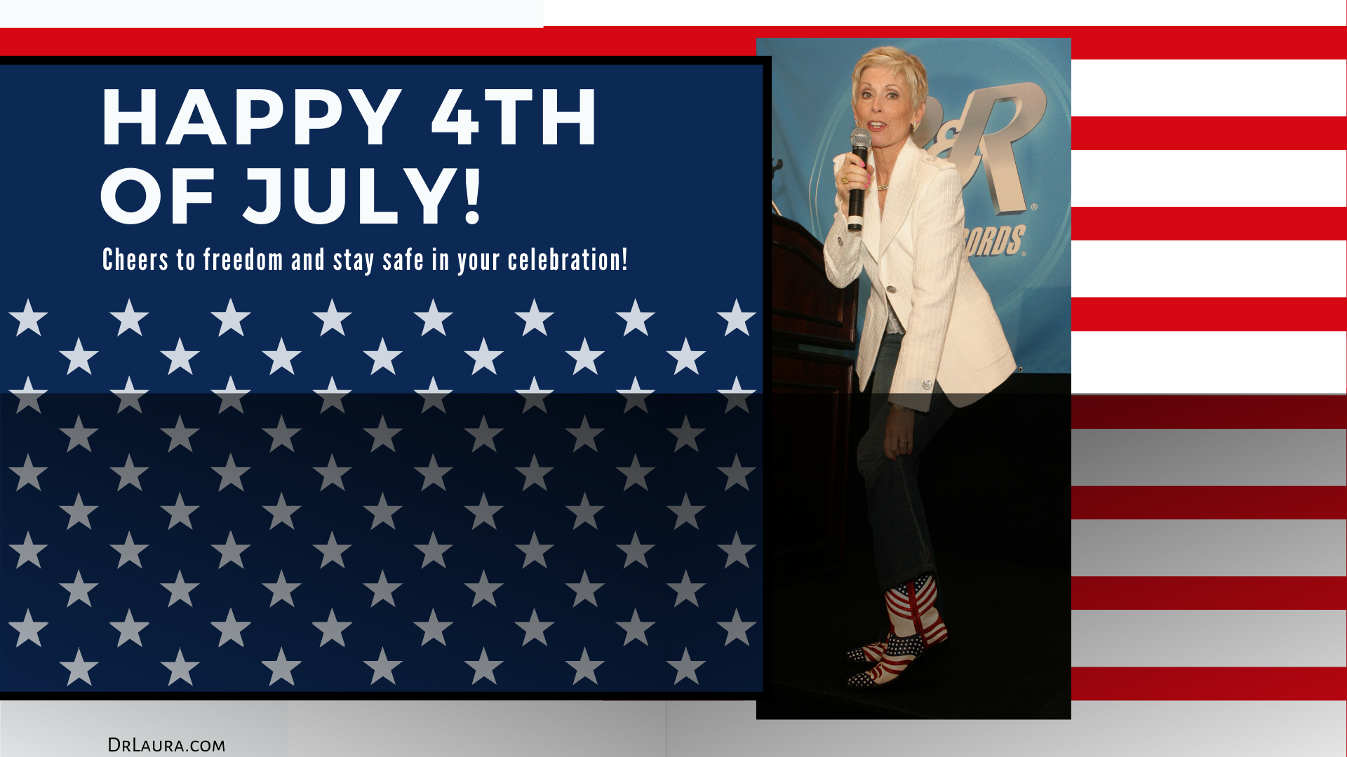 YouTube: Star-Spangled Fun With Dr. Laura