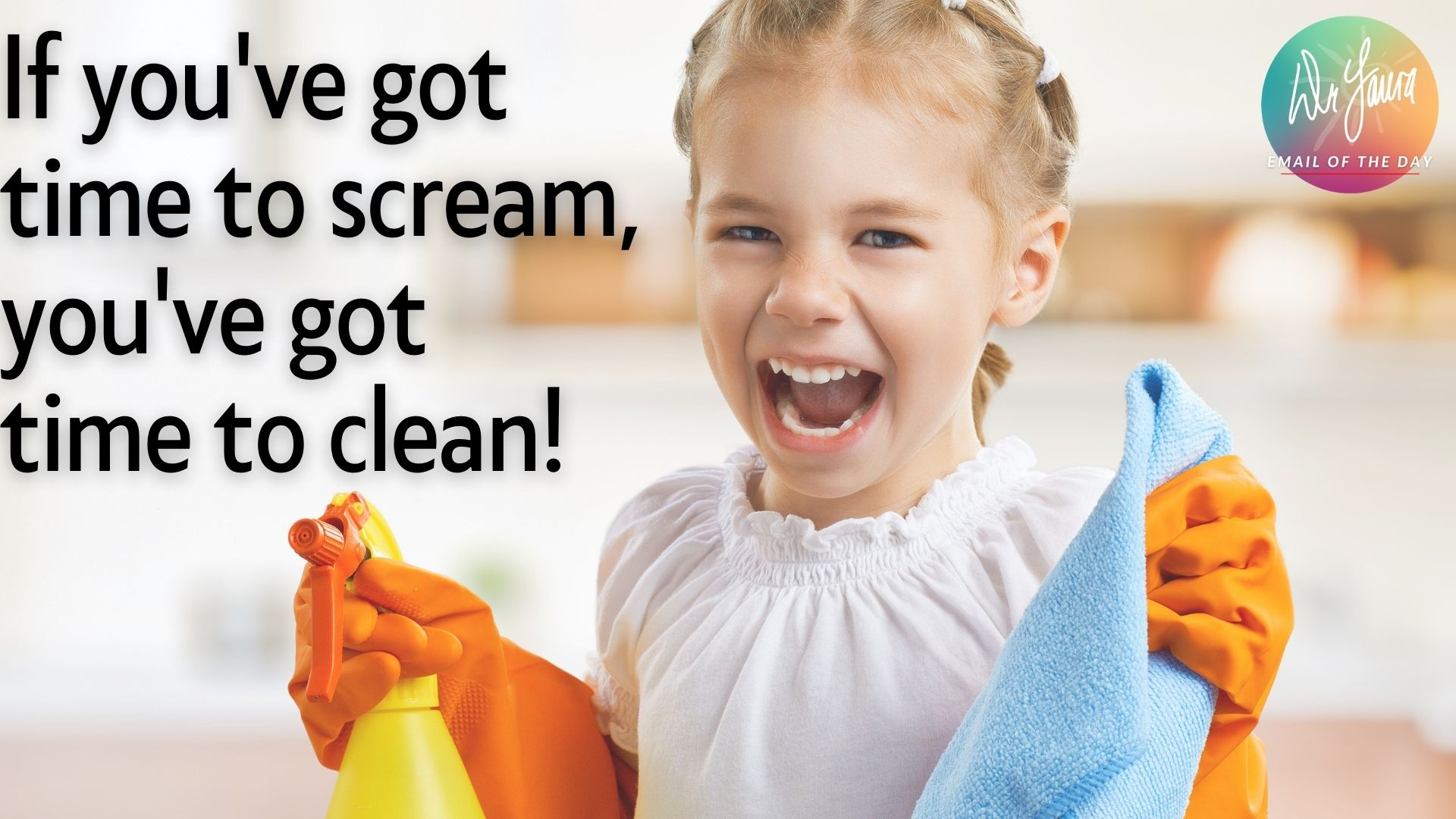 Email of the Day: What I Do When My Kids Start Screaming